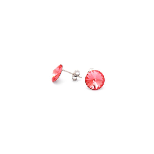 Rose Peach Swarovski Crystal - Ray's Jewellery