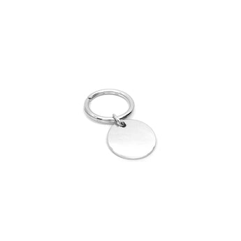 Plain Round Keychain - Ray's Jewellery