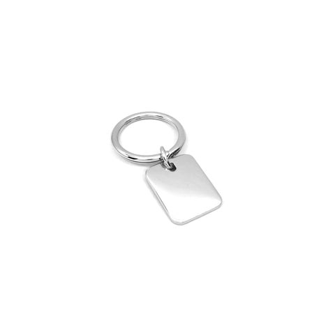 Plain Rectangle Keychain - Ray's Jewellery