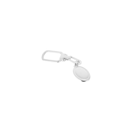 Embossed Oval Keychain - Ray's Jewellery