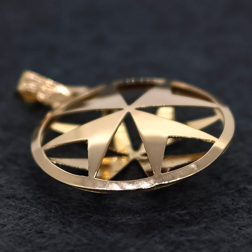 Gold Suave Maltese Cross - Ray's Jewellery