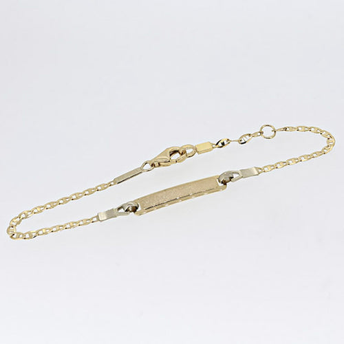 Marinelia Kids 18kt ID Bracelet - Ray's Jewellery