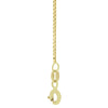 "18kt Gold Box Chain 51cms (20"") Long - 1.0mm Thick"
