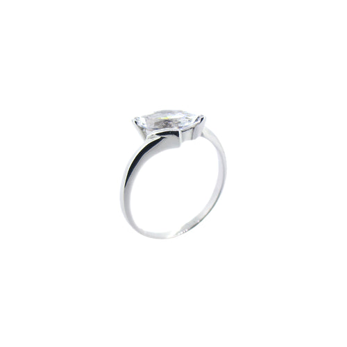 Marquise Solitaire Ring - Ray's Jewellery