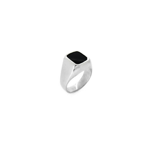 Onyx Signet Men's Ring - Ray's Jewellery