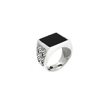 Onyx Signet Men's Ring