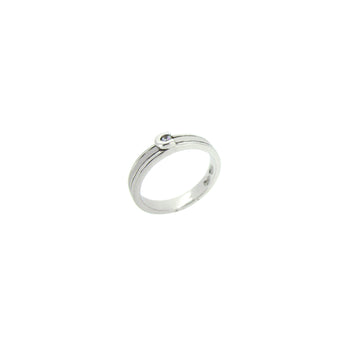 Matte Solitaire Ring - Ray's Jewellery