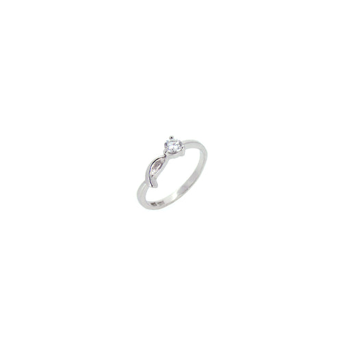 Ribbon Solitaire Ring - Ray's Jewellery