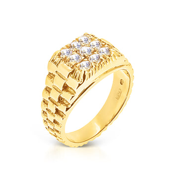 Rolex 18kt Gold Ring