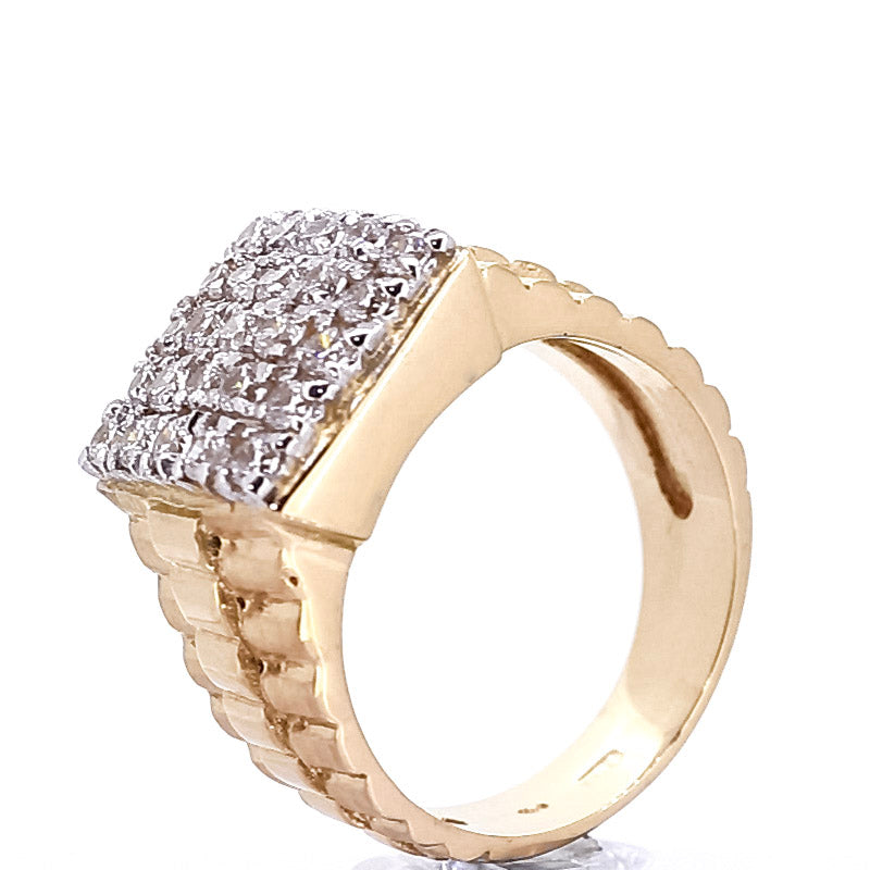 Rolex 18kt Gold Titan Ring - Ray's Jewellery