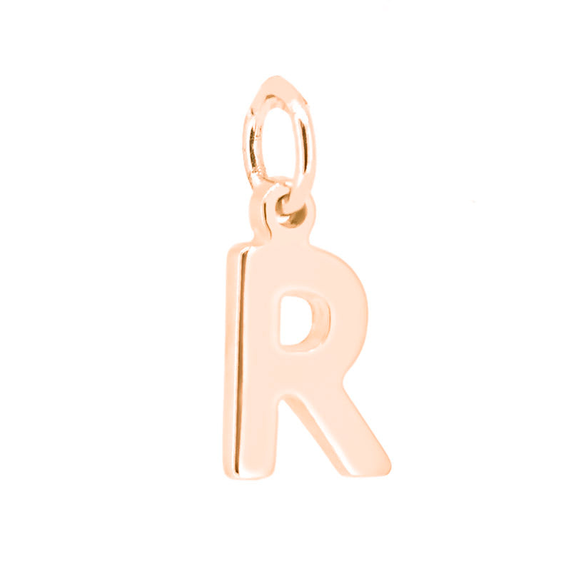 Initial Rose Gold Plated Pendant - Ray's Jewellery