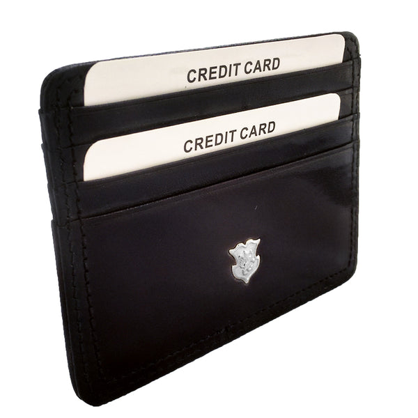 Wall St Leather Card Holder