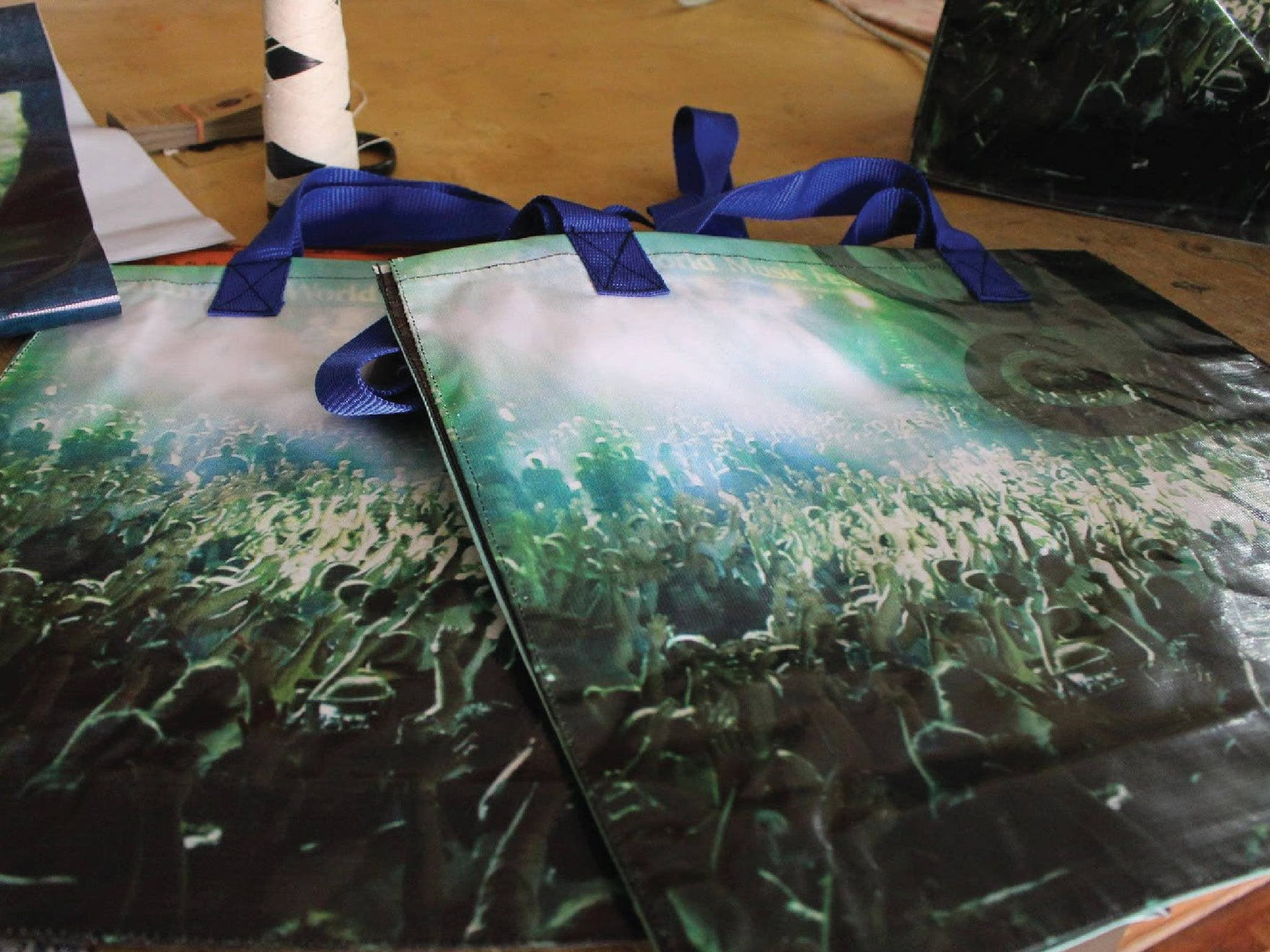 Rainforest Music Festival 2017 Banner Bags !