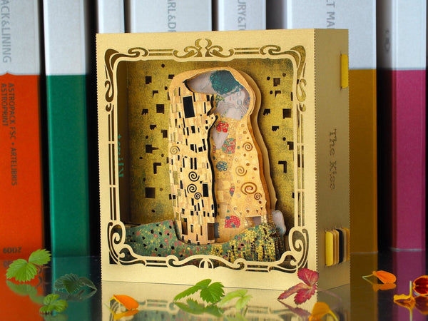 Gustav Klimt Kiss pop-up card