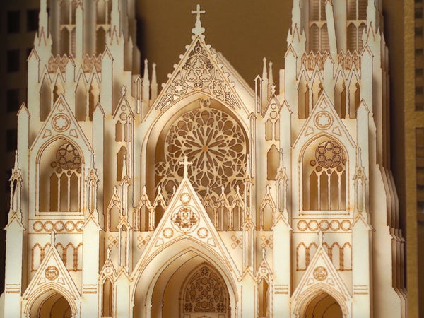 The St. Patrick's Cathedral, New York, USA pop-up card