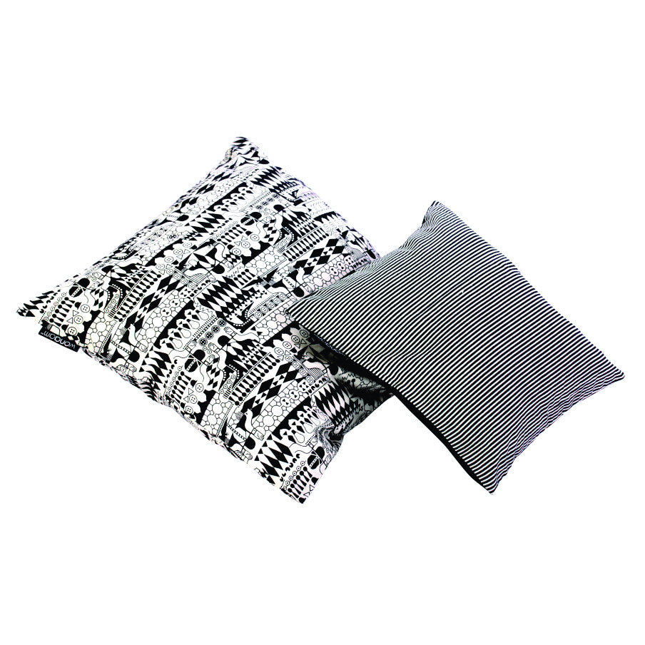 SMALL STRIPED CUSHION COVER