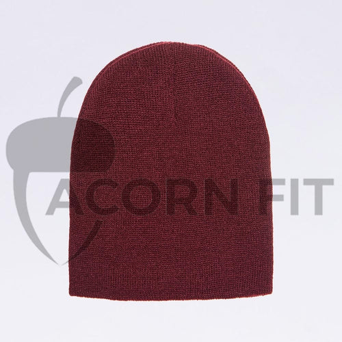 Wholesale flexfit beanies - 1500KC Maroon