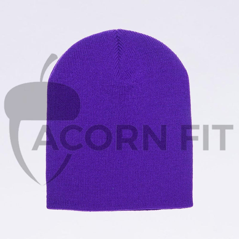 Wholesale flexfit beanies - 1500KC Purple