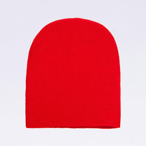 Wholesale flexfit beanies - 1500KC Red