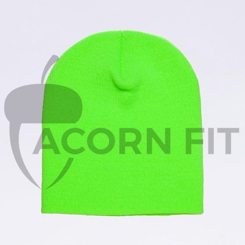 Wholesale flexfit beanies - 1500KC Neon Green