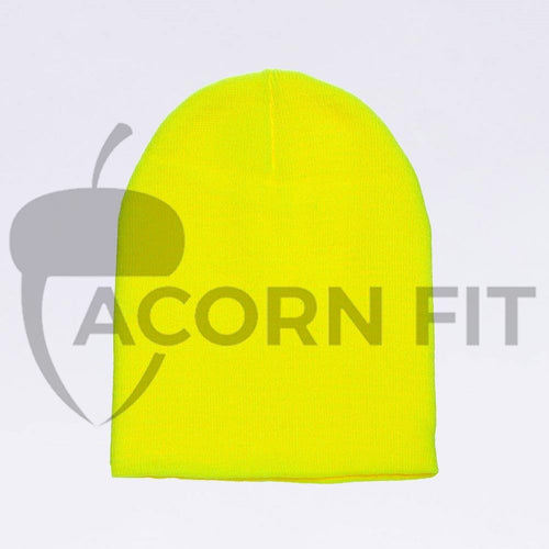Wholesale flexfit beanies - 1500KC Neon Yellow