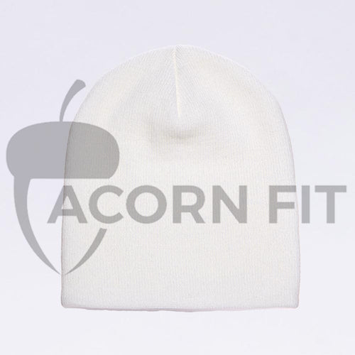 Wholesale flexfit beanies - 1500KC White