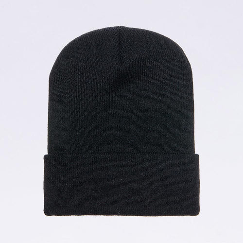 Wholesale flexfit beanies: 1501KC Black