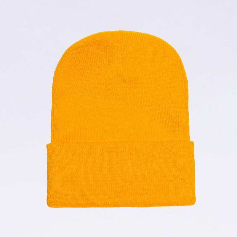 Wholesale flexfit beanies: 1501KC Gold