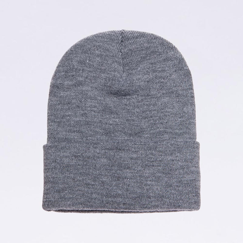 Wholesale flexfit beanies: 1501KC Heather Grey