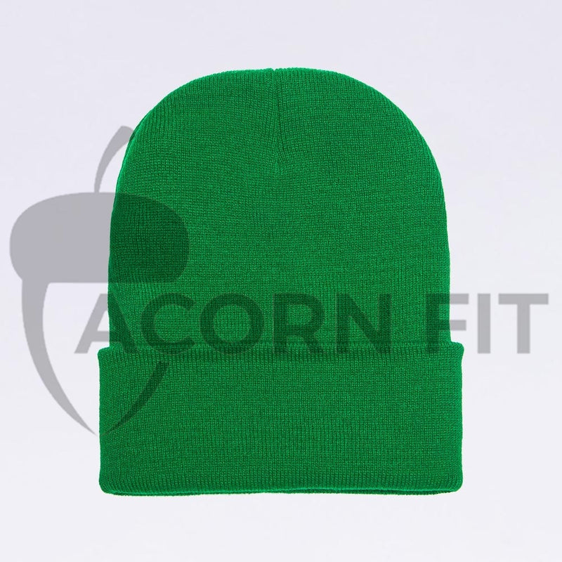 Wholesale flexfit beanies: 1501KC Kelly Green