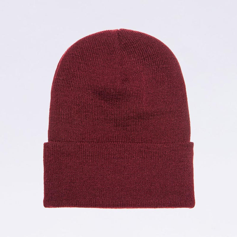 Wholesale flexfit beanies: 1501KC Maroon