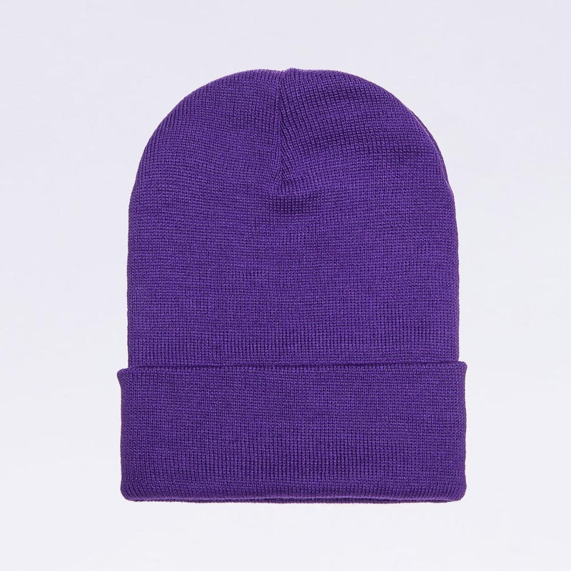 Wholesale flexfit beanies: 1501KC  Purple