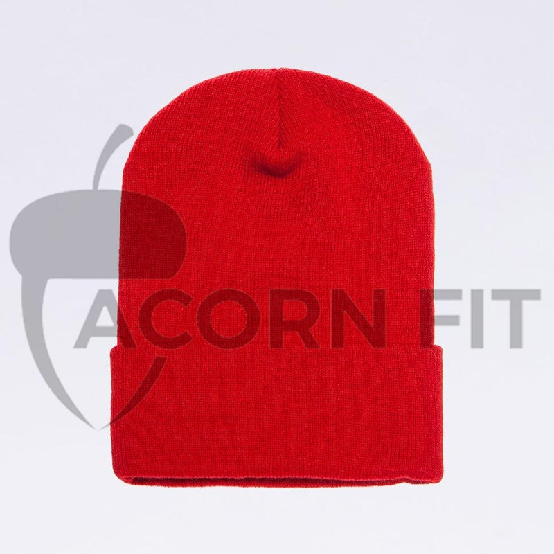 Wholesale flexfit beanies: 1501KC Red