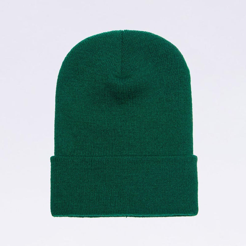 Wholesale flexfit beanies: 1501KC Spruce Green