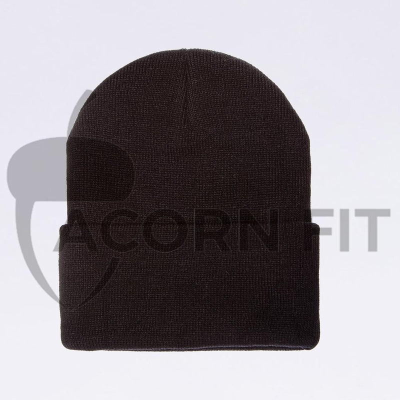Wholesale Flexfit Beanies: 1535TH Black Thinsulate Beanie