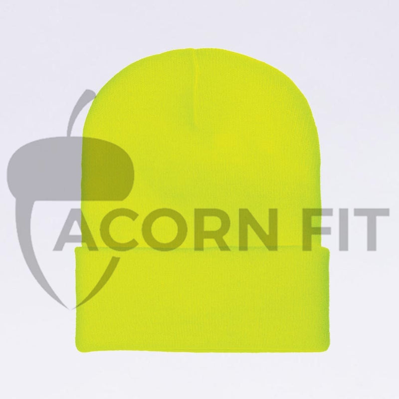 Wholesale Flexfit Beanies: 1535TH Neon Yellow Thinsulate Beanie