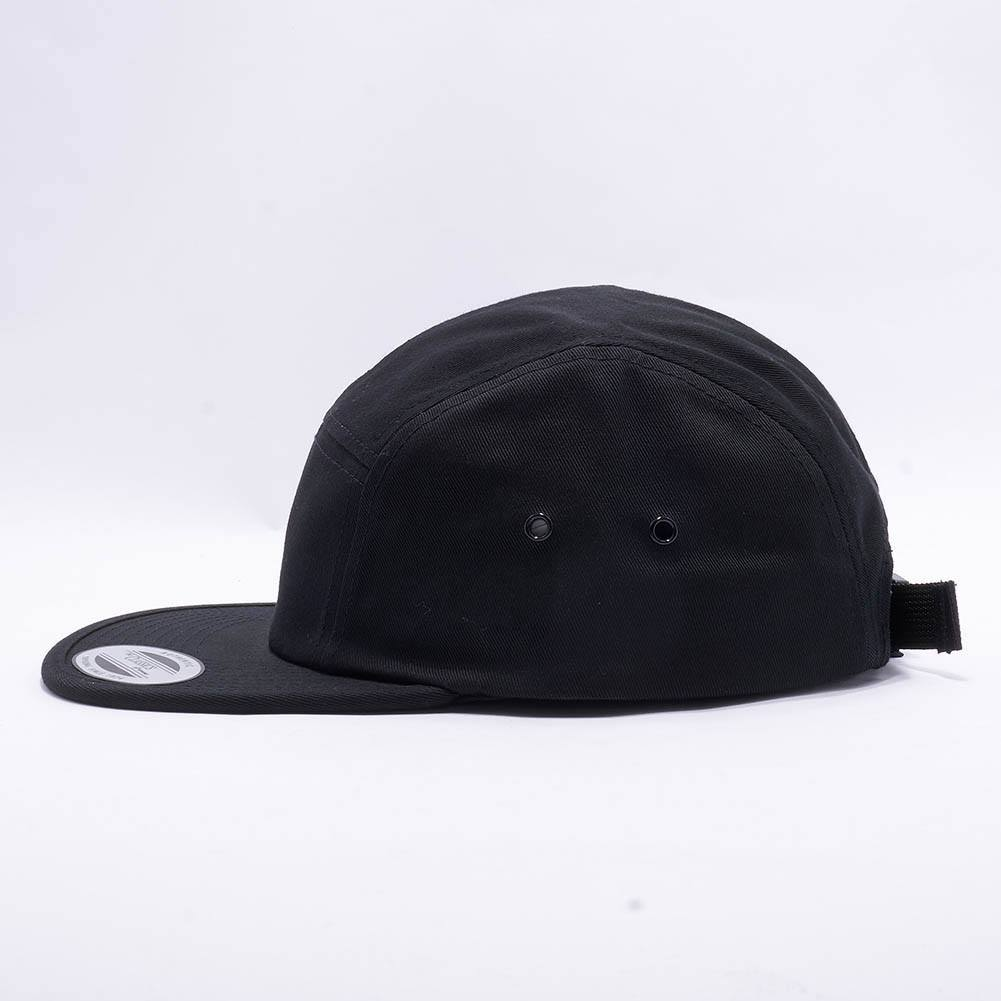 60a1965d0db1b Wholesale Yupoong 7005 Classic Jockey Camper Hat  Black  – Acorn Fit