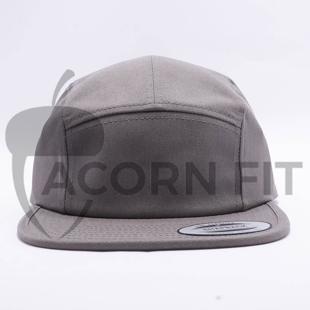 8644c5c528bbf Wholesale Yupoong 7005 Classic Jockey Camper Hat  Grey  – Acorn Fit