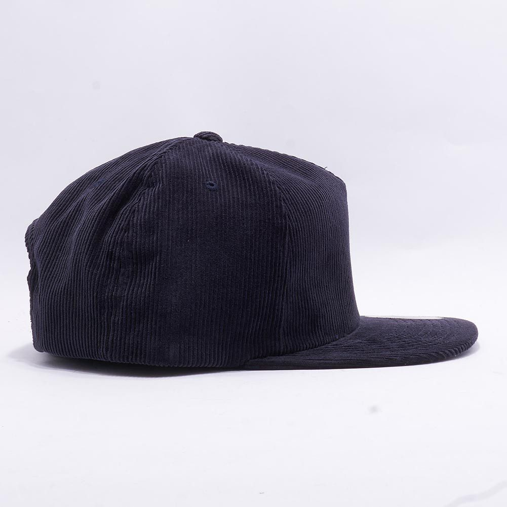 cd9ff412aa012 Wholesale Yupoong 6508 Corduroy Snapback  Navy  – Acorn Fit