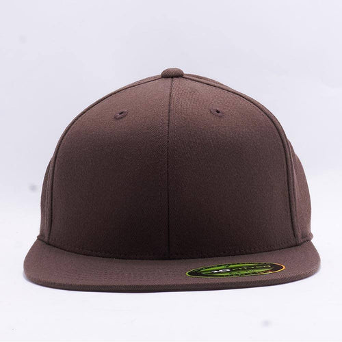 Brown 210 Blank Fitted Hats