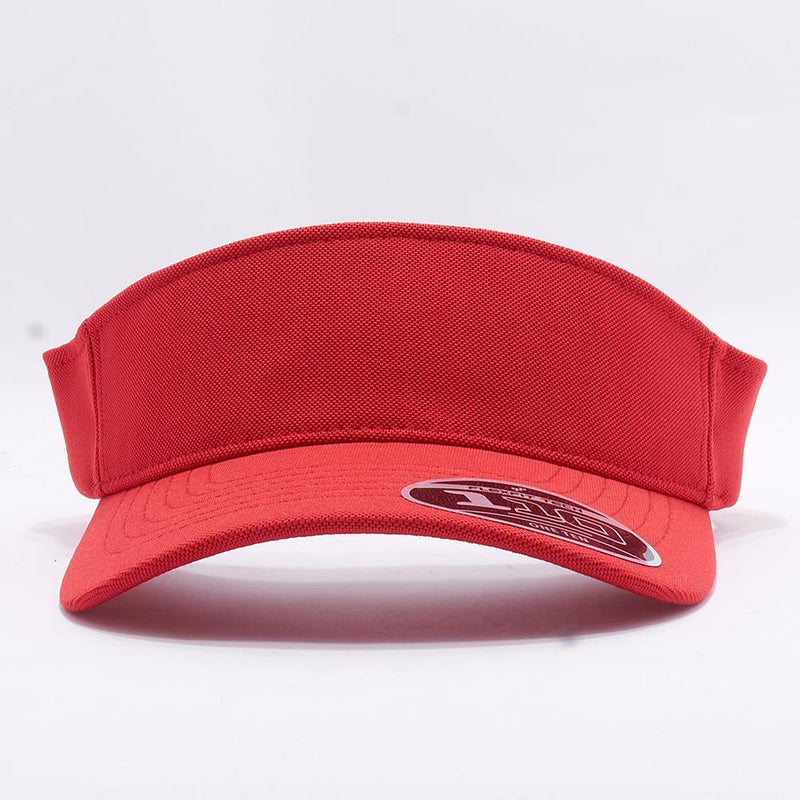 Red Visor Hat Cap