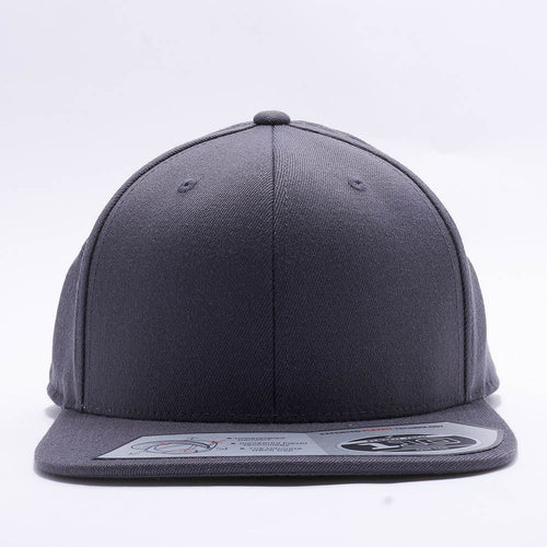 Blank Grey Snapback Hats Caps