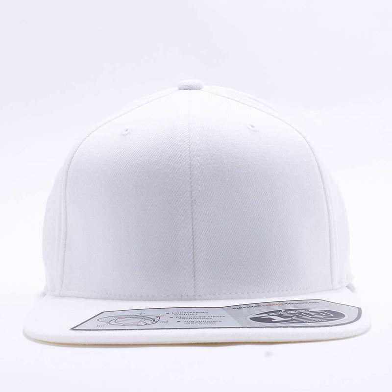Blank White Snapback Hats Caps