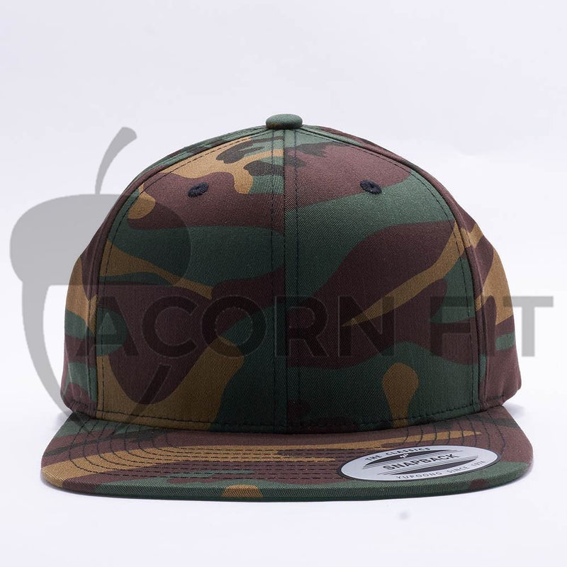 Yupoong Classic Blank Camo Snapback