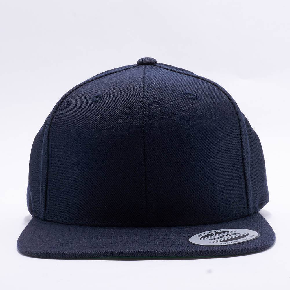 717cb261746 Wholesale Yupoong 6089M Classic Snapback  Dark Navy  – Acorn Fit