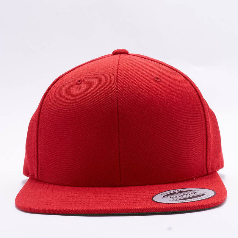 Yupoong Classic Blank Red Snapback