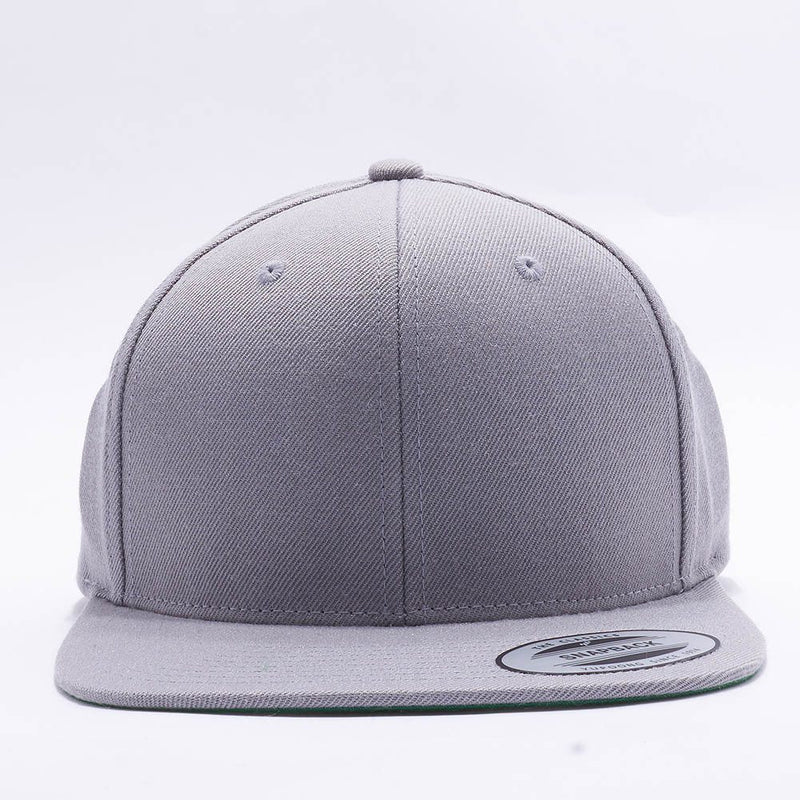 Yupoong Classic Blank Silver Snapback