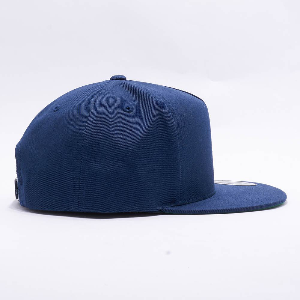 7ce4ddb54 Wholesale Yupoong 6007 5 Panel Cotton Twill Snapback [Navy]