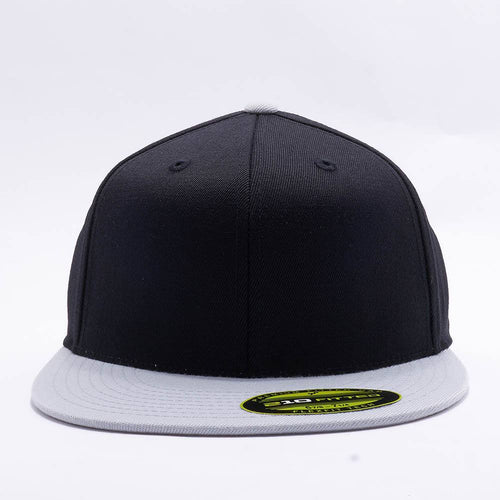 Black Grey 210 Blank Fitted Hats