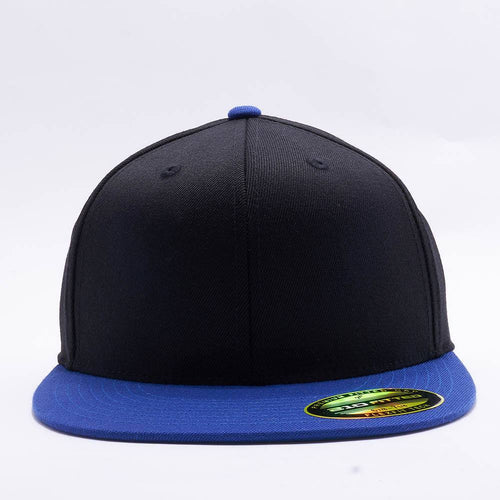 Black Royal 210 Blank Fitted Hats